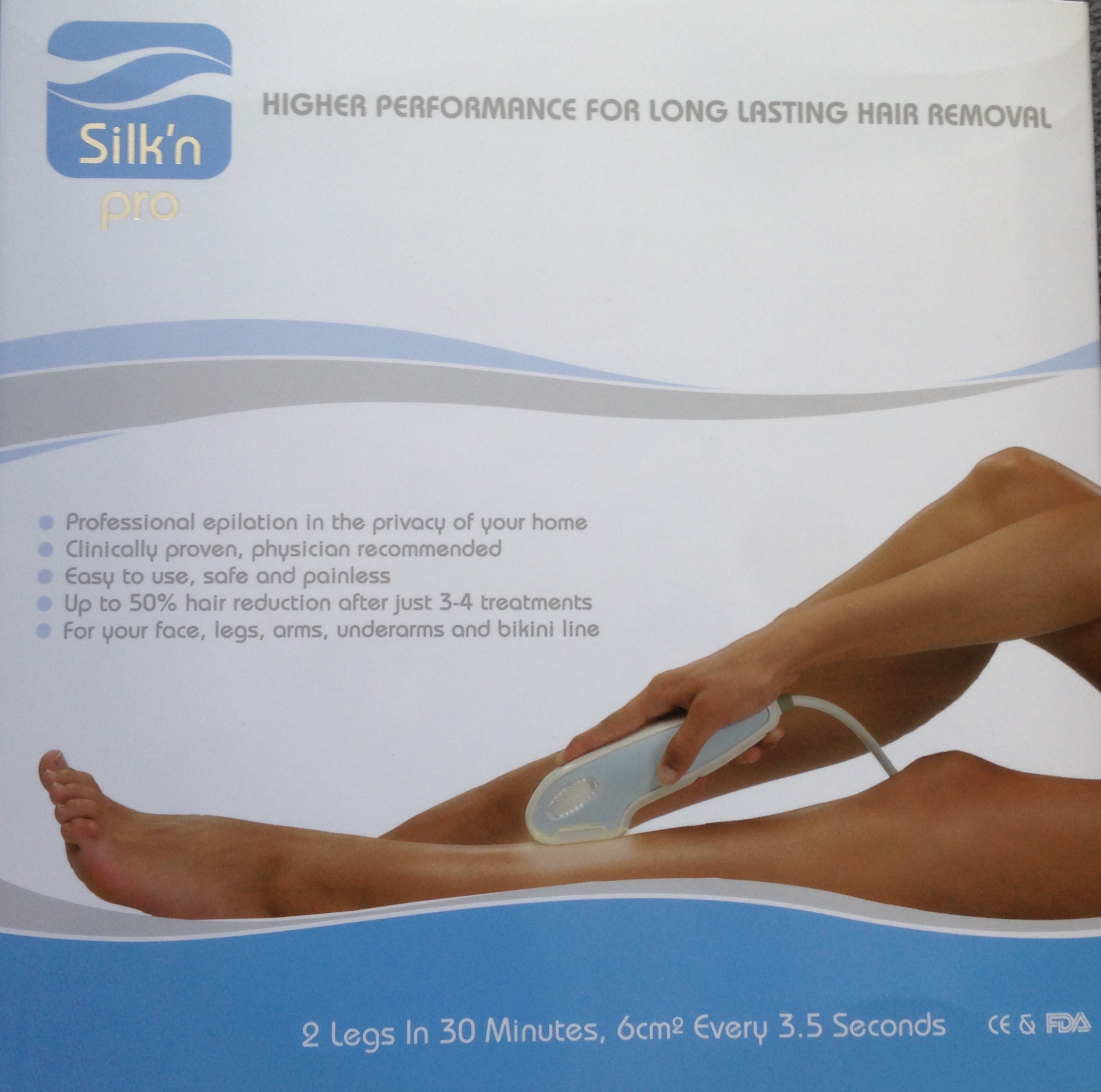 First impressions Silk'n Review- silky smooth legs for the